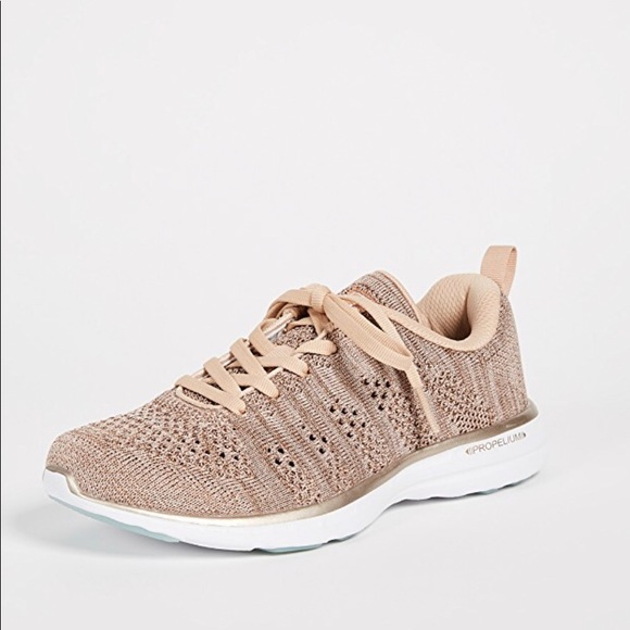 APL Shoes | Apl Rose Gold Techloom